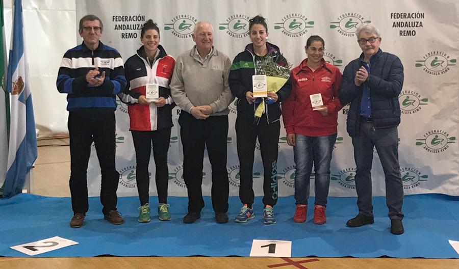 Segundos en el medallero del IV Campeonato de Andalucía de remoergómetro