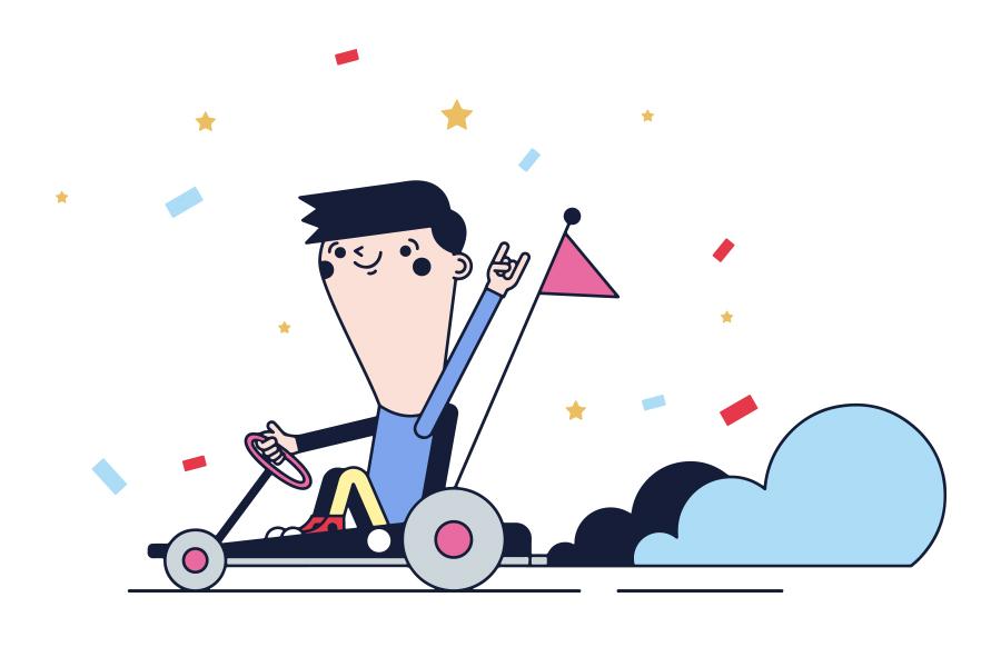 10 de febrero, Circuito de Karts a pedales en Instalaciones Deportivas