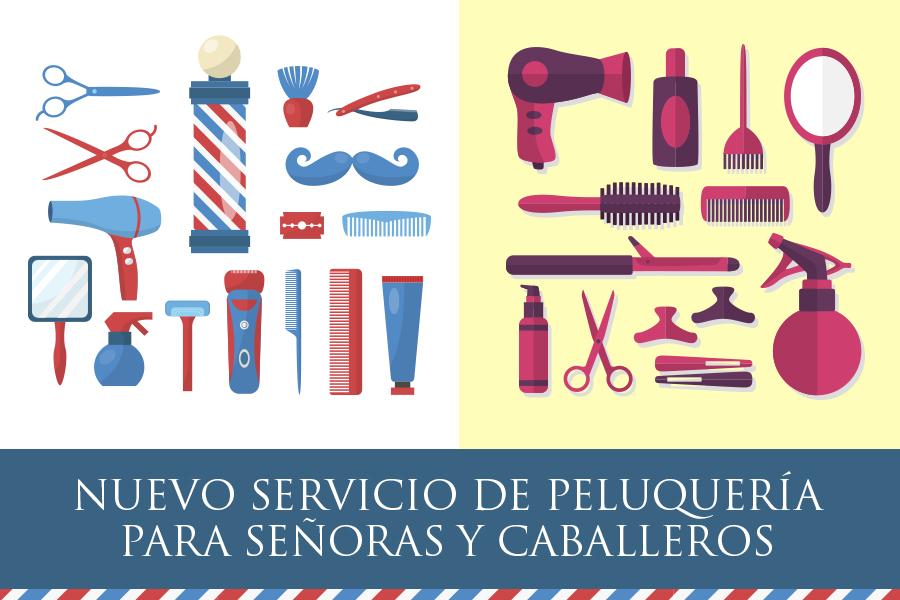 Peluquería en Pedro Caravaca e Instalaciones Deportivas