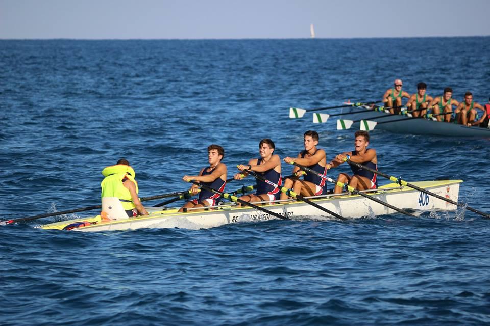 El Real Círculo de Labradores consigue el cuarto puesto en el Campeonato de España de remo de mar