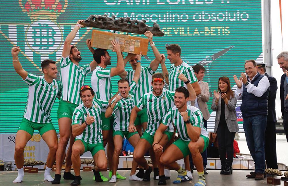 Pleno verdiblanco en la 52 Regata Sevilla – Betis