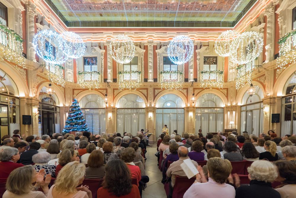 Natalia Labourdette vuelve a inaugurar de manera exitosa la Temporada Musical del Real Círculo de Labradores