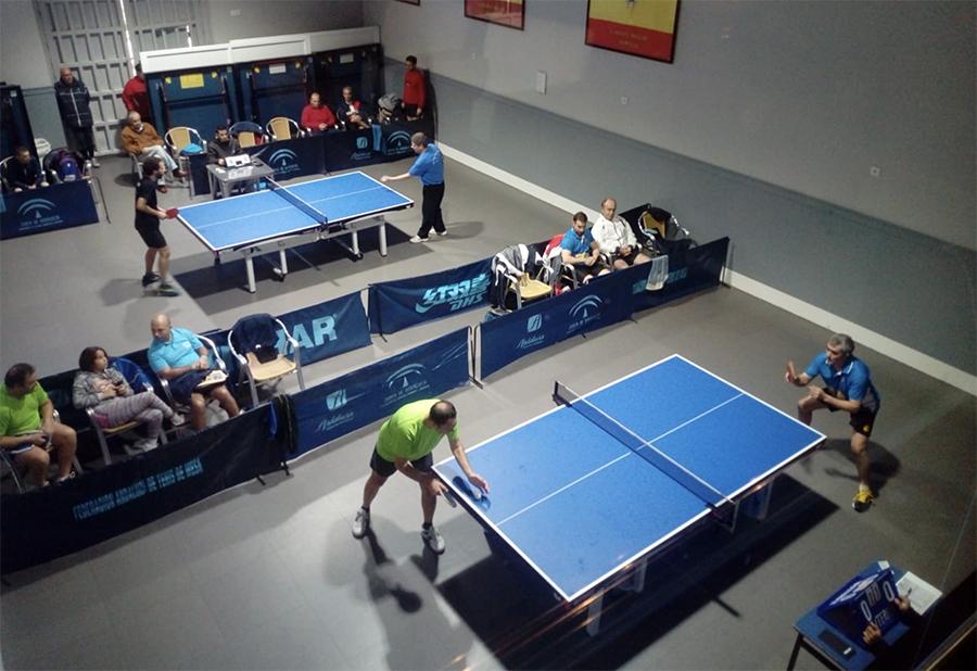 Buenos resultados de los Veteranos de la sección de Tenis de Mesa