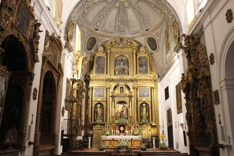1 de febrero, visita externa al Convento de Las Teresas