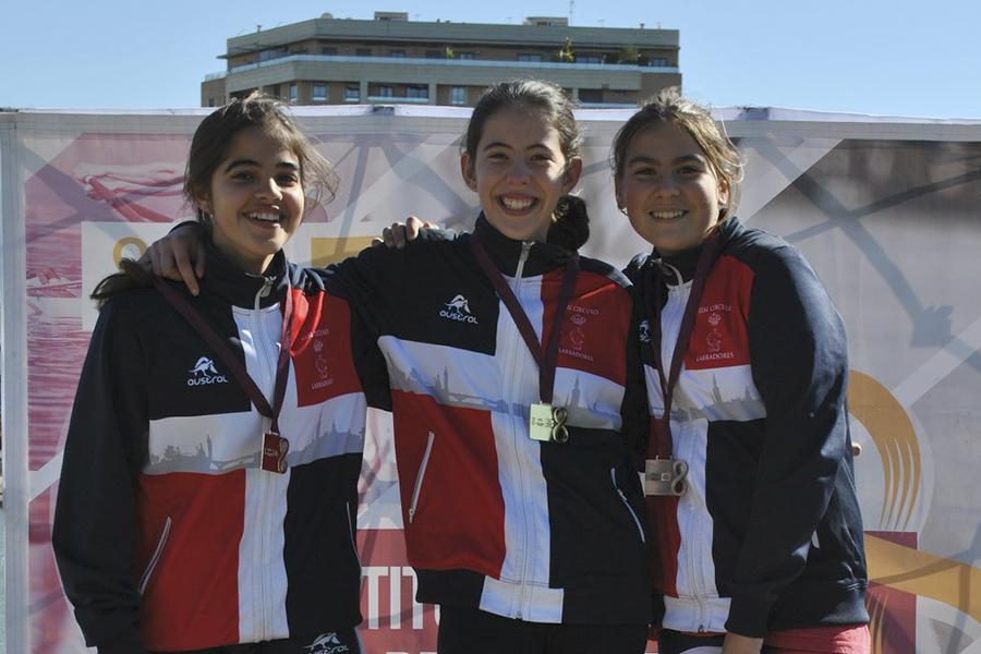 Segundo puesto del Real Círculo de Labradores en la II Jornada de los Juegos Municipales de Piragüismo del IMD Sevilla