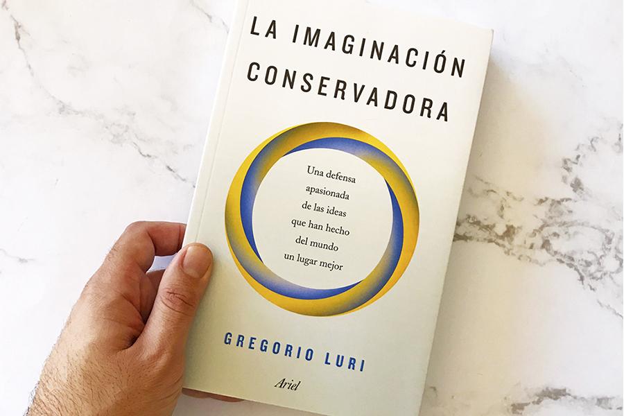 30 de marzo, presentación del libro 'La imaginación conservadora' en Pedro Caravaca