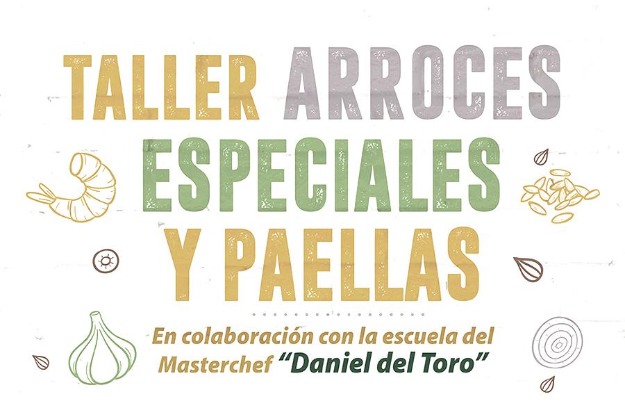 Taller gastronómico 'Arroces especiales y Paellas' en Instalaciones Deportivas