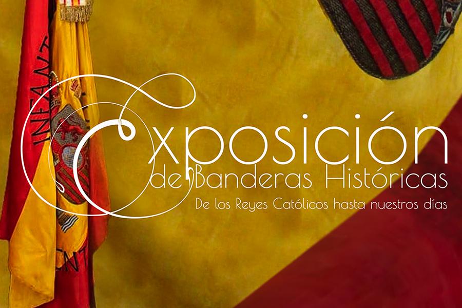 Exposición de Banderas históricas: 'De los Reyes Católicos hasta nuestros días' en Pedro Caravaca